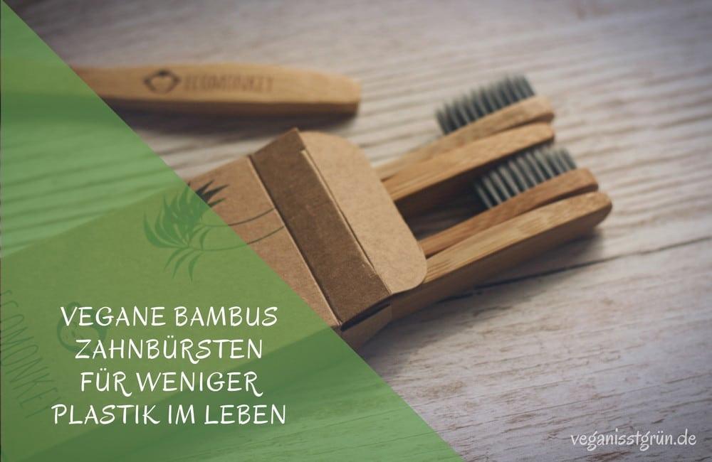 Vegane Bambus Zahnbürsten weich kaufen