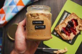 cashew butter selber machen vegan