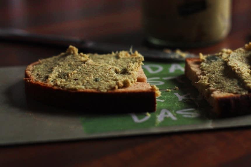 Wirsing-Aufstrich mit Räuchertofu glutenfrei