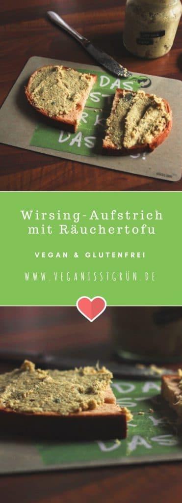 Wirsing-Aufstrich mit Räuchertofu vegan & glutenfrei