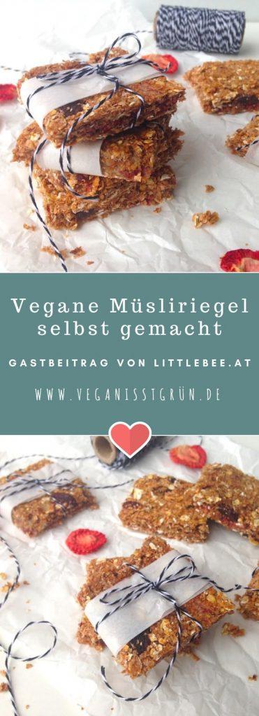 gesunde müsliriegel selbst gemacht vegan