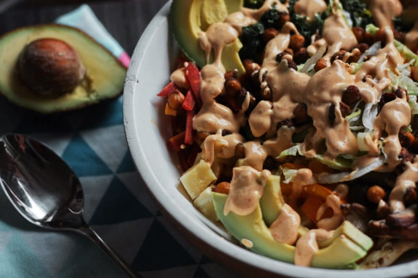 vegan buddha bowl glutenfrei