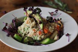 Quinoa Risotto vegan & glutenfrei