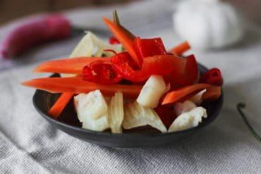 fermentiertes Gemüse türkischer Art