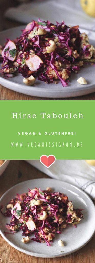 Hirse Tabouleh vegan und glutenfrei