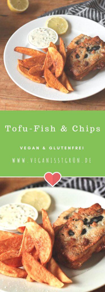 Tofu-Fish & Chips vegan und glutenfrei