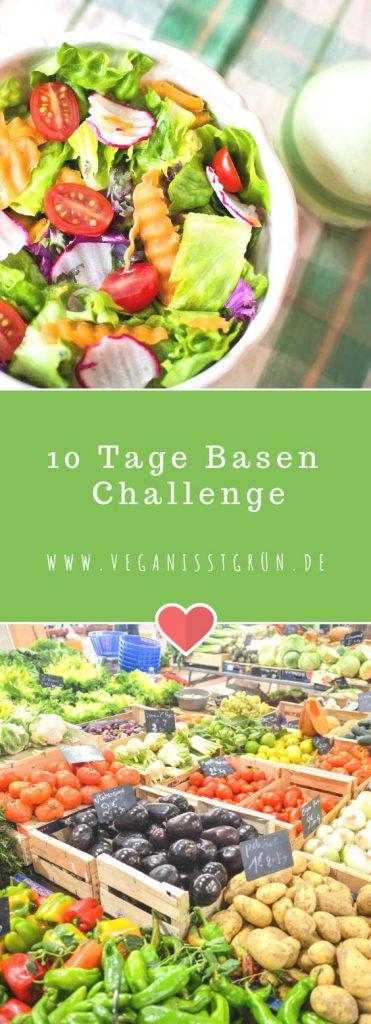 10 Tage Basenüberschüssige Ernährung Die Basen Challenge Pinterest